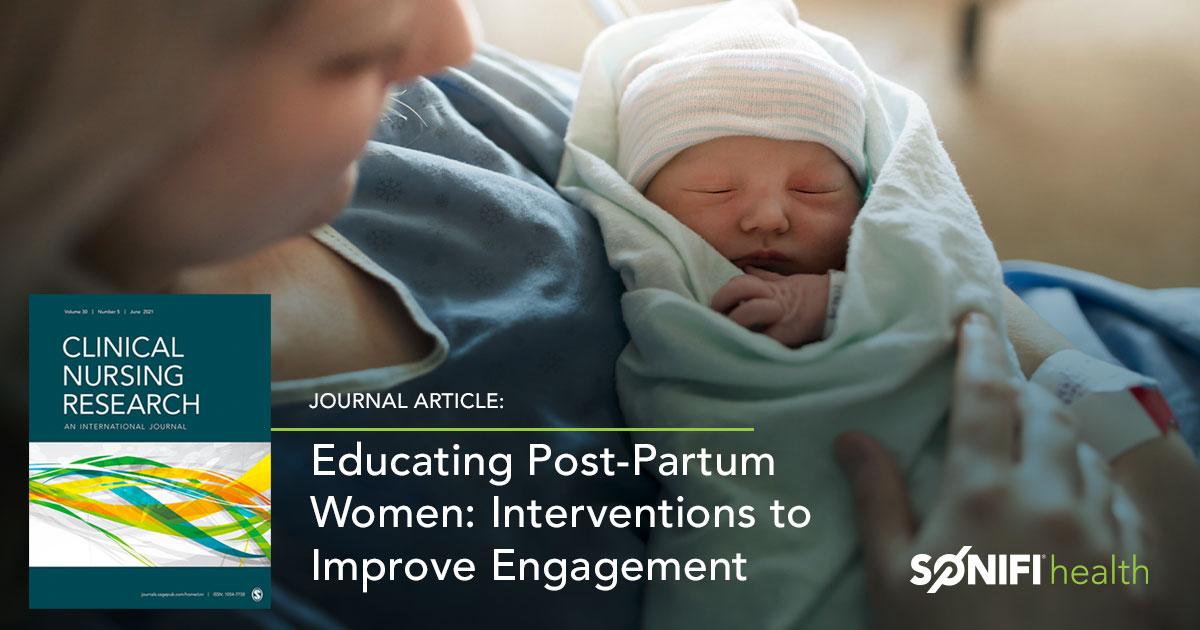 Social_ClinicalNursingResearch_EducatingPostpartum