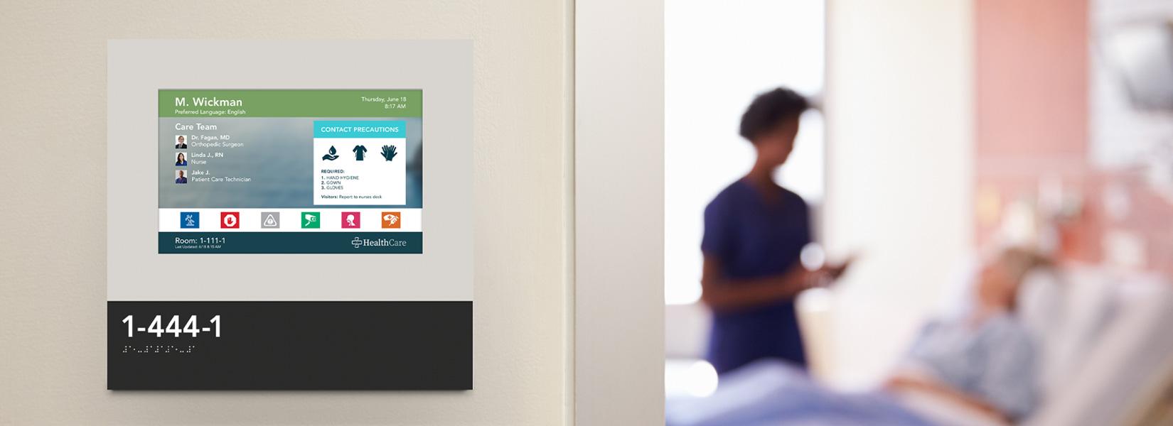 Digital Door Signs